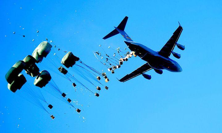 Eetbare drone voor voedselhulp