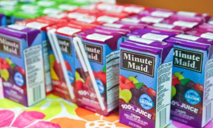 Vruchtensappen verliezen gezonde imago