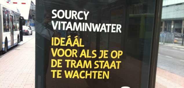 B&B: Vitaminwater - het ideale wachtwater