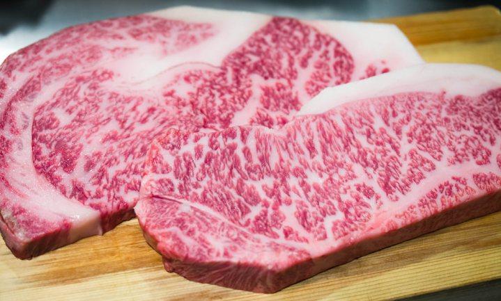 Hamburger van gemalen Japans rund wint