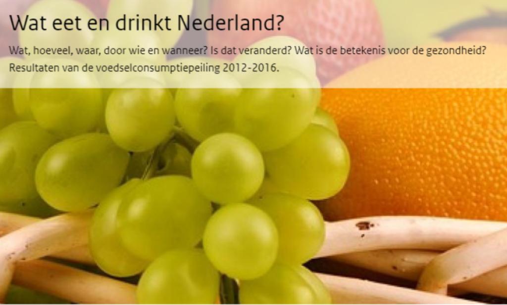 'Nederland eet gezonder, maar er is nog veel winst te behalen'