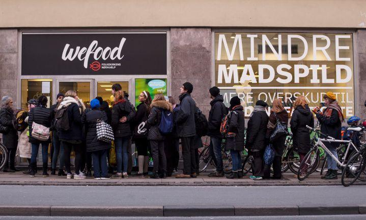 Deense overschottensupermarkt opent winkel in trendy wijk