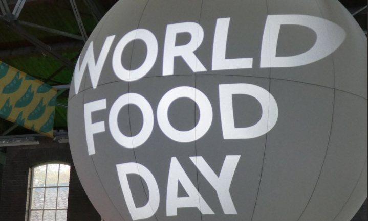 Een moderne Wereldvoedseldag draait om de stad