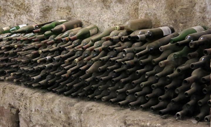 Geheime kelder verbergt vintage wijn