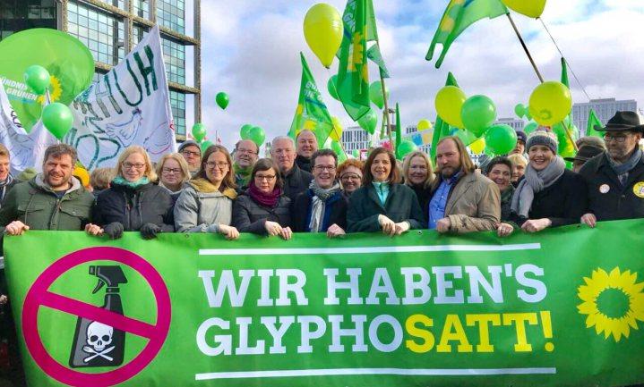 'Wij zijn het (glyfo)zat', zeggen Duitse demonstranten
