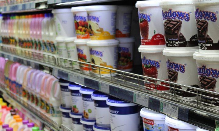 Britse supermarktyoghurts zijn erg zoet