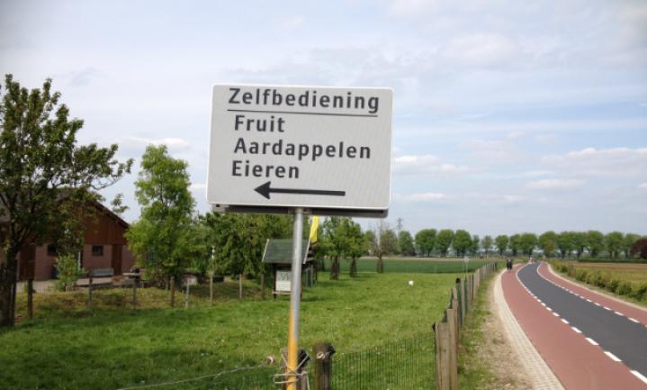 Waar zitten de zelfverkopende boeren?