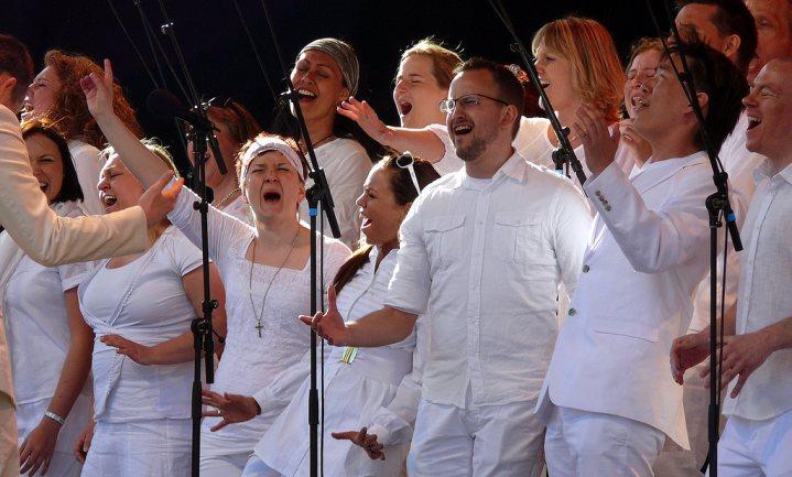 Zingen in koor helpt bij kanker